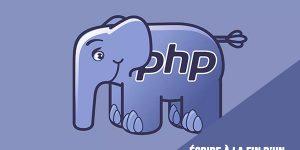 Comment écrire à la fin d'un fichier texte avec PHP