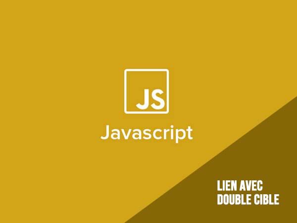 Javascript : lien avec double cible